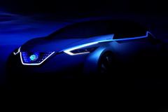 日产全新概念车预告图 新一代聆风雏形