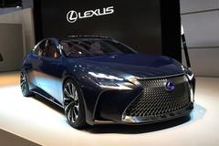 雷克萨斯LF-FC概念车发布 或明年上市