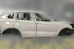 大迈X7白车身谍照曝光 定位中型SUV