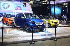 广州车展探馆:smart forfour
