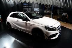 2015广州车展:新款AMG A 45亮相