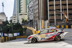 亚游集团车队出征澳门格兰披治大赛车
