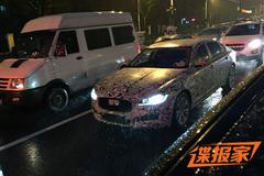 捷豹XFL国内谍照曝光 或北京车展发布