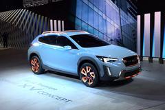 2016日内瓦车展:斯巴鲁XV Concept亮相