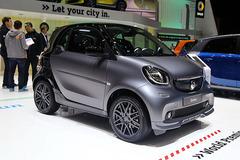 2016日内瓦车展:smart fowtwo BRABUS