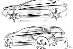 奇瑞瑞虎7设计图公布 或将于10月上市