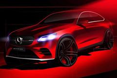 奔驰GLC Coupe宣传图曝光 纽约车展发布