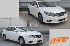 东风日产新款天籁实车曝光 下半年上市