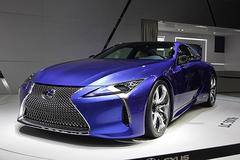 2016北京车展:雷克萨斯LC 500h首发