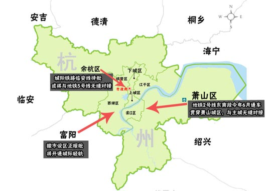 这就意味着,杭州主城区概念将进一步扩展,城市建设重心将向副城,组团图片