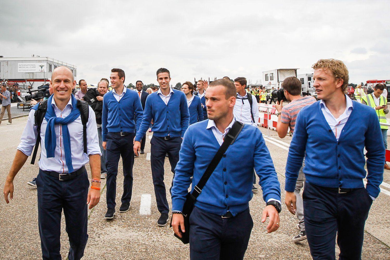 北京时间2014年7月13日消息,荷兰鹿特丹,2014巴西世界杯,荷兰