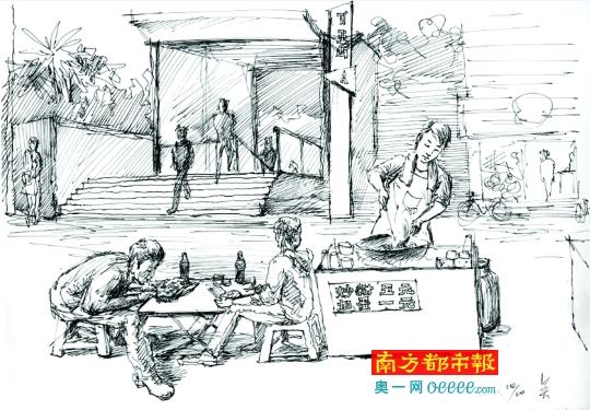 广州的桂花树下和十字路口都有爱情