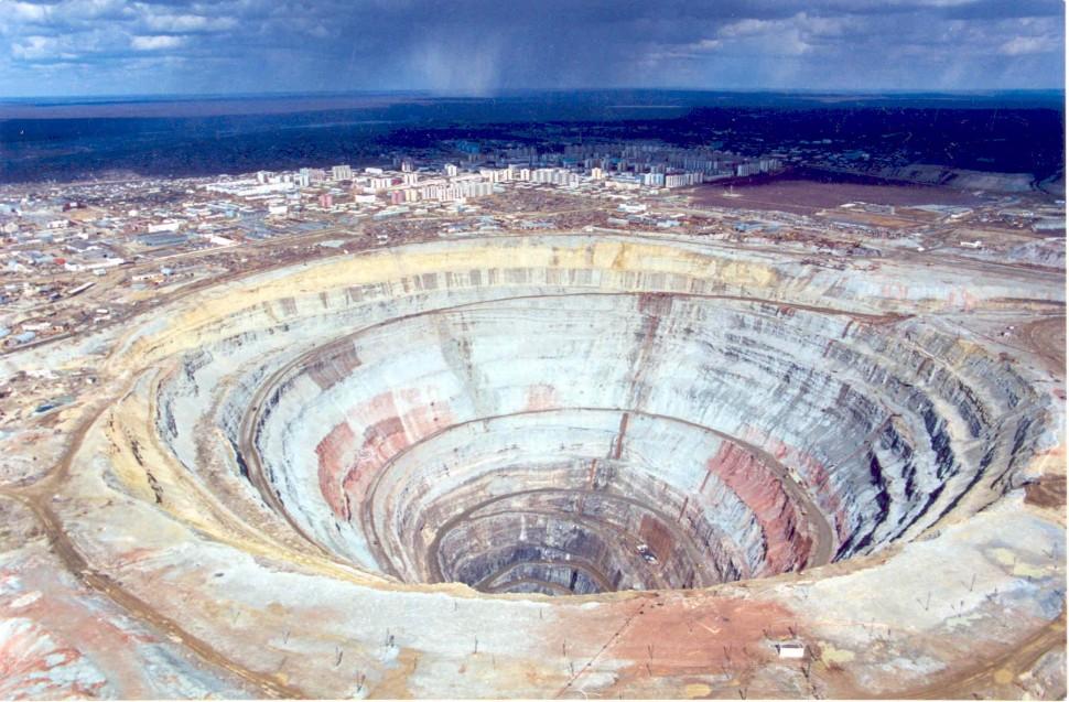 俄陨石坑藏超级钻石矿