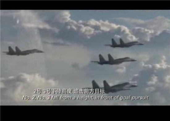 手拿纸飞机的小朋友开始,中间展现了各型战机多个空战镜头,包括歼10