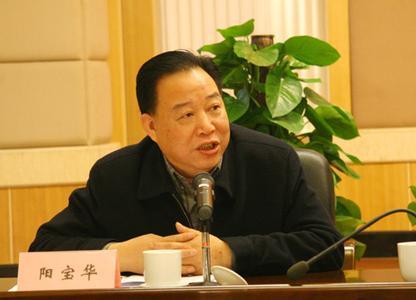 湖南省 落马/湖南省政协前副主席阳宝华
