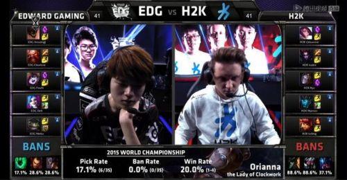 英雄联盟lols5总决赛 edg vs h2k比赛视频:edg成功晋级八强