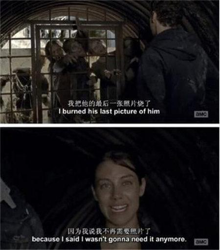 格伦/行尸走肉第六季第五集瑞克返回社区,一直未提及格伦,格伦依旧...