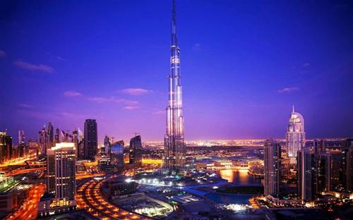 世界第一高楼迪拜塔住户
