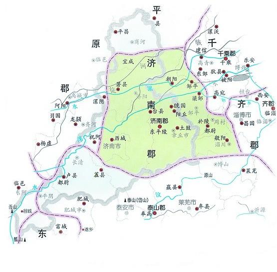 禹城辛店镇地图