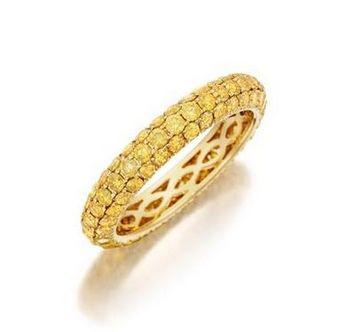 三排银珠戒指编法图片