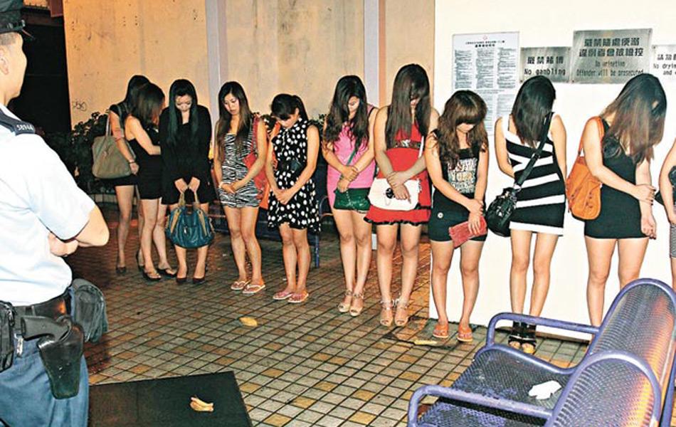 香港拘12内地妓女