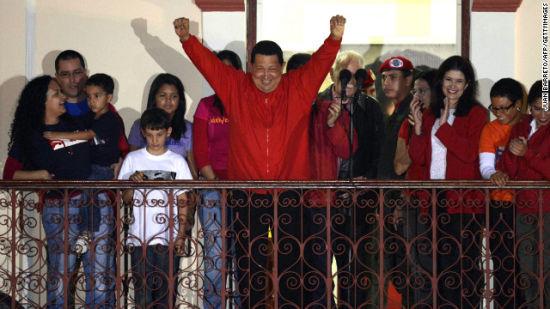 查韦斯2012年10月7日再次当选委内瑞拉总统。