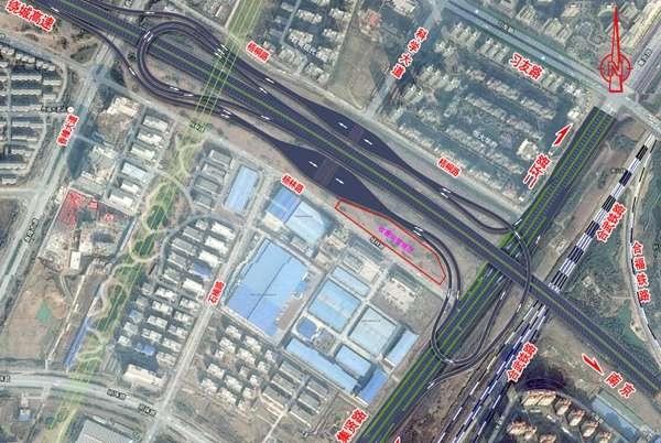 集贤路互通立交方案通过审查 采用变形双喇叭设计(图)图片