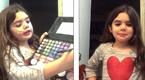 5岁女童视频教化妆 技法娴熟引争议