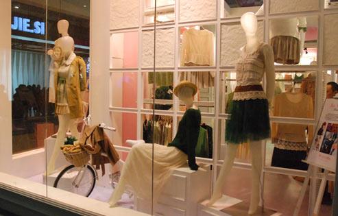 2012 CHIC女装馆精品展示