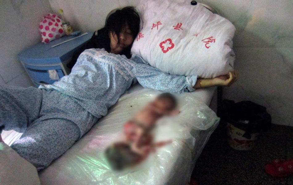 陕西镇坪计生部门强制引产7月大胎儿