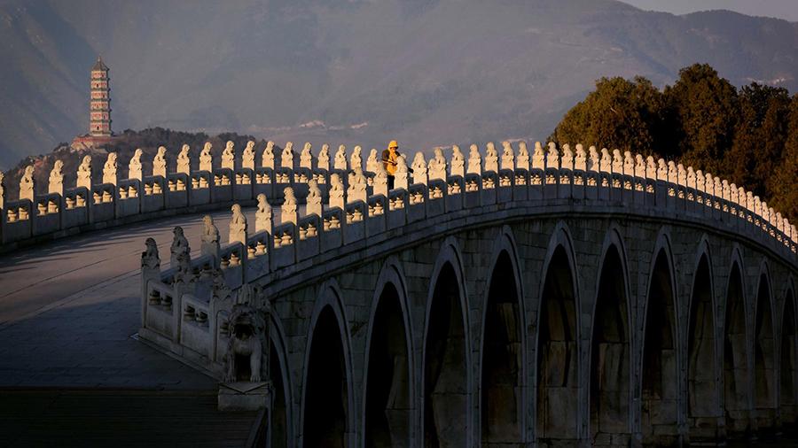 桥梁,是中国古代建筑中的重要组成部分