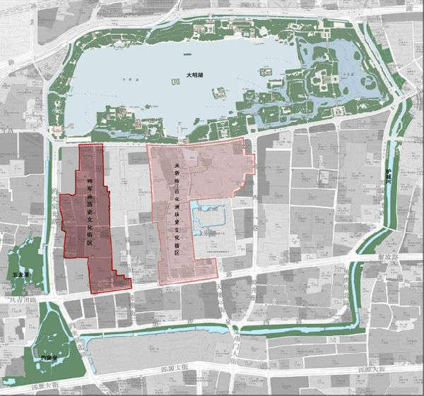 济南将军庙,芙蓉街两大历史文化街区保护规划出炉