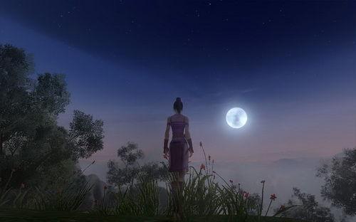 2月亮星座思乡时