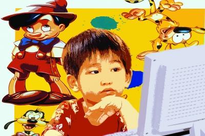 电子娱乐时代的儿童游戏