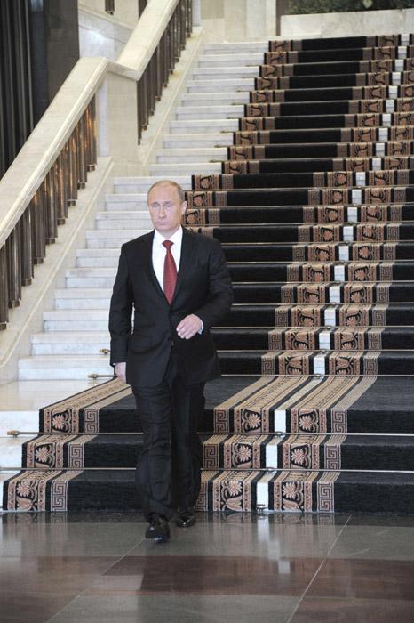 普京就任俄罗斯总统