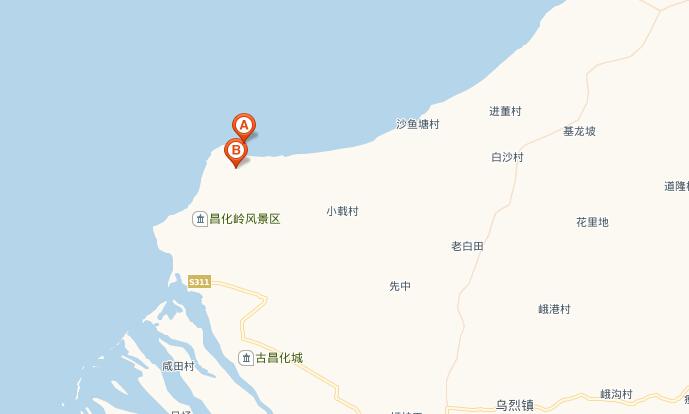 官道无疆昌江地图