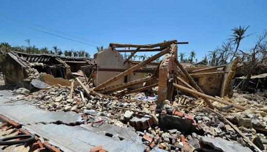 2014海南十大天气气候事件 台风 威马逊 列榜首