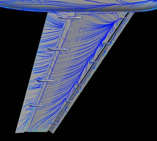 机翼的内部结构图片