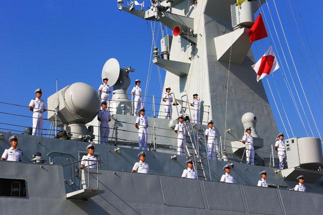 海军舰艇编队出访美国澳大利亚和新西兰三国 - 临沂剑客 - yhjl.lo.ve.me 的博客