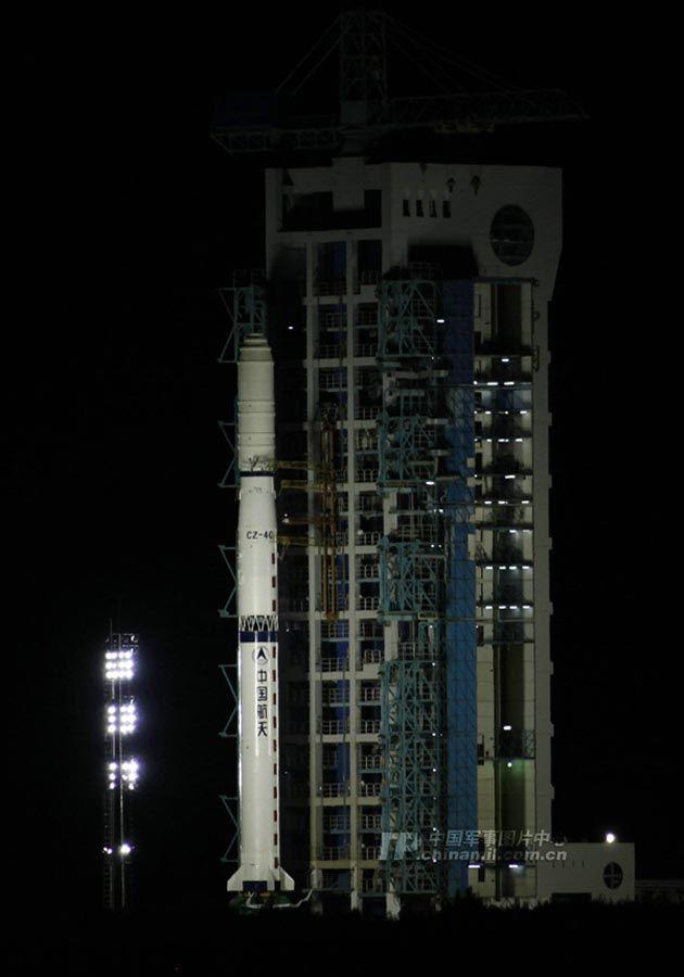 中国用长征四号丙火箭成功发射遥感卫星17号