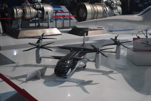 简氏:中国四旋翼飞机酷似《阿凡达》直升机概念