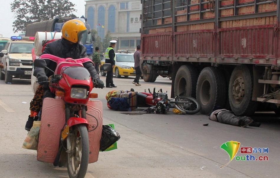 春运:摩托返乡大军连发车祸多人伤亡 河南频道