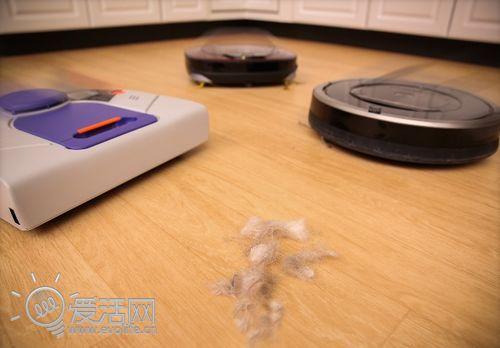 7款清洁机器人综述:到底谁能把地板清干净?