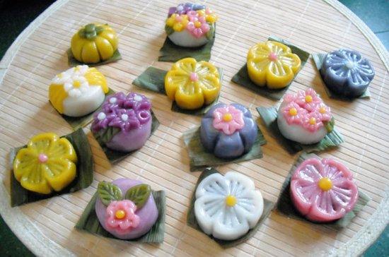 美食的神奇创意 打造好吃又可爱的糯米团子