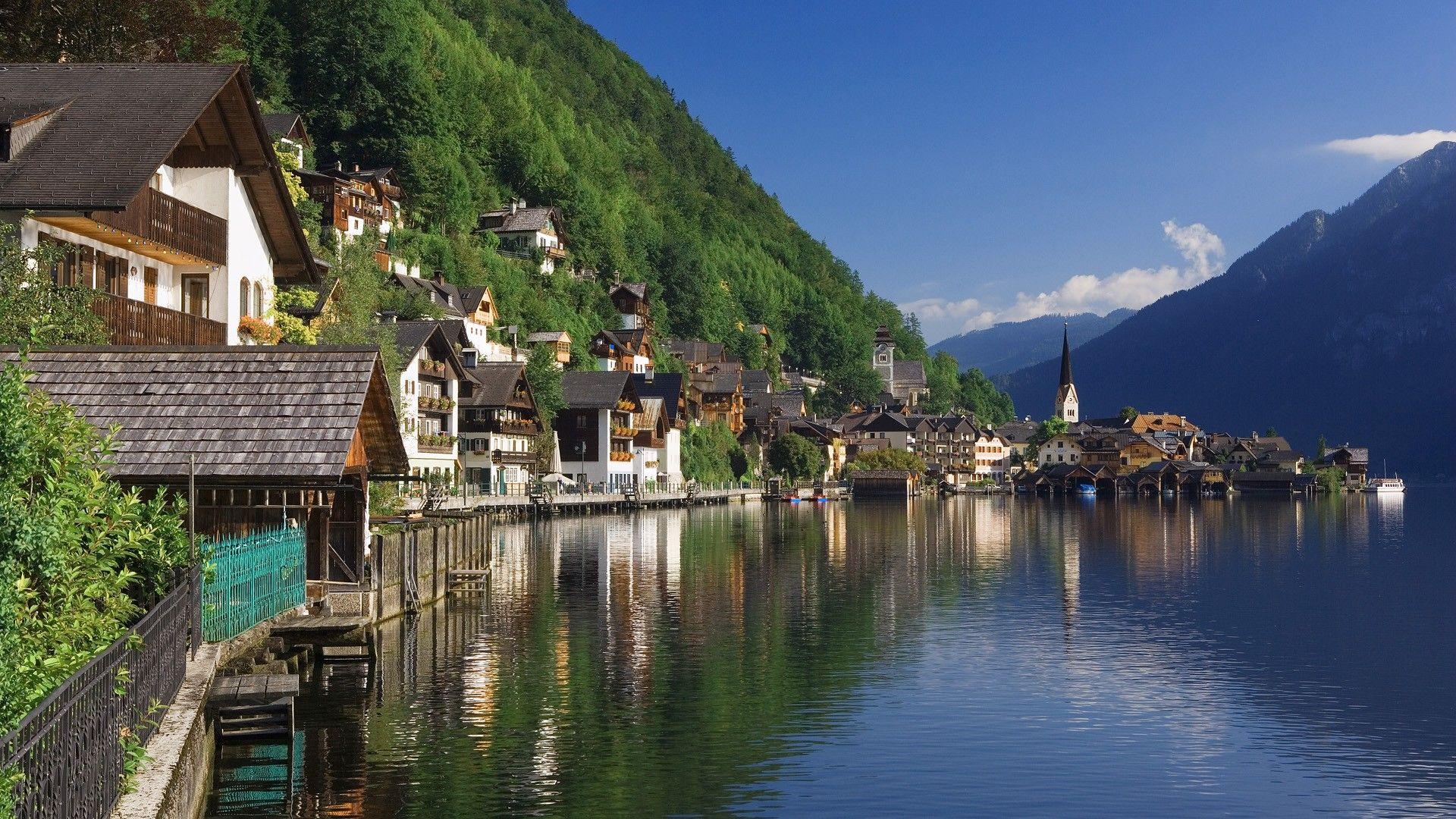 最美湖畔小镇 奥地利哈尔施塔特
