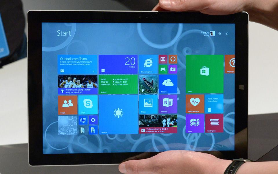 微软Surface Pro 3上手体验:更大更薄更快