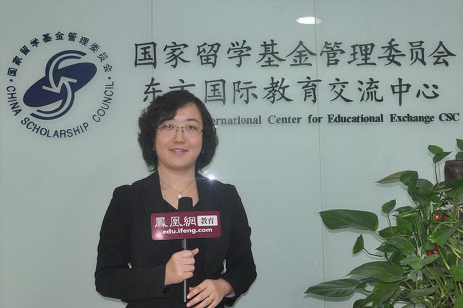 东方国际教育交流中心主任韩悦女士。