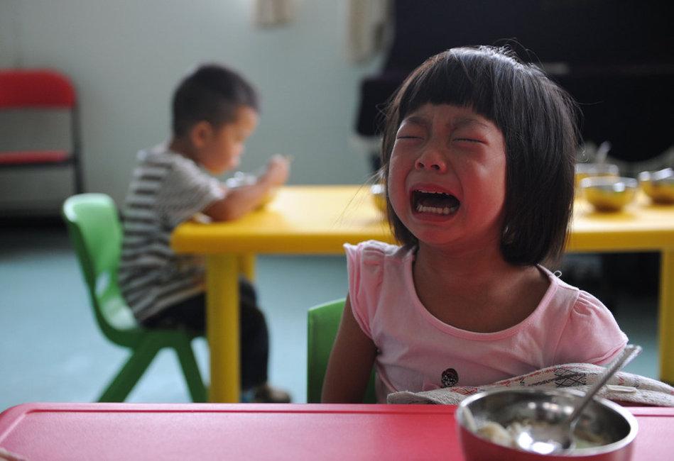 我在幼儿园的第一天