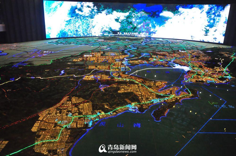 滨海烂尾楼变规划馆 高科技展示未来青岛