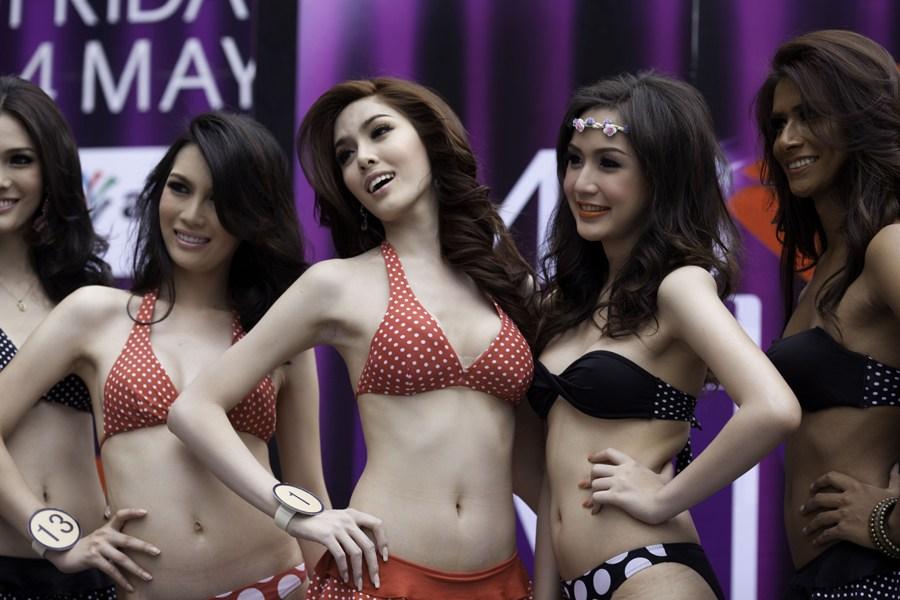 泰国举办变性人选美大赛